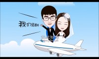 创意婚礼开场动画视频制作