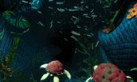 3D特效卡通布条CG场景动画