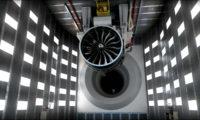 飞机航空发动机三维仿真动画