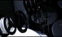 创意3D动画机械齿轮手表空间组合