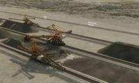 交通运输铁路:工程施工建设动画