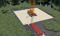 叉车起重机作业三维虚拟动画
